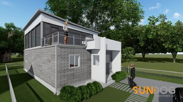 Shipping container home hits Tampa Heights