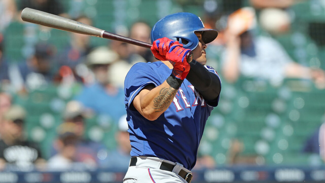 Shin-Soo Choo extends streak as Rangers blank Tigers