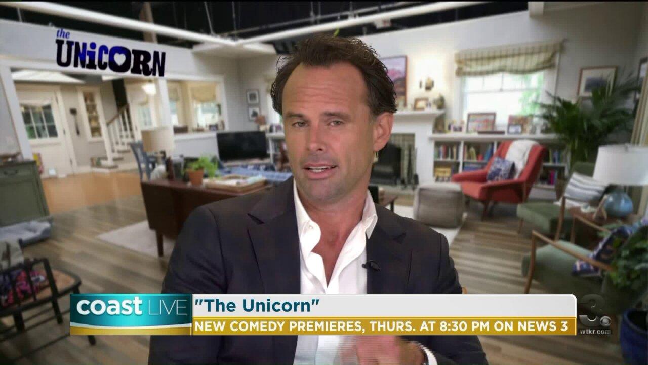 "Walton Goggins on the new CBS comedy series ""The Unicorn"" on CoastLive"