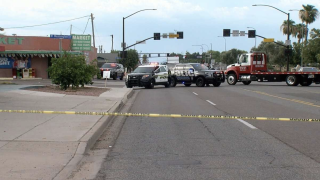 Gunfight between cars in Tolleson