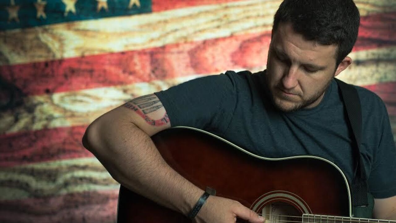Army veteran pours pain into his music after losing 19 men in his battalion