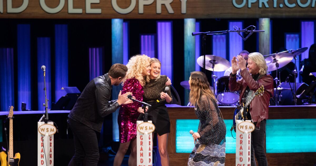 Ballerini to be inducted into Grand Ole Opry