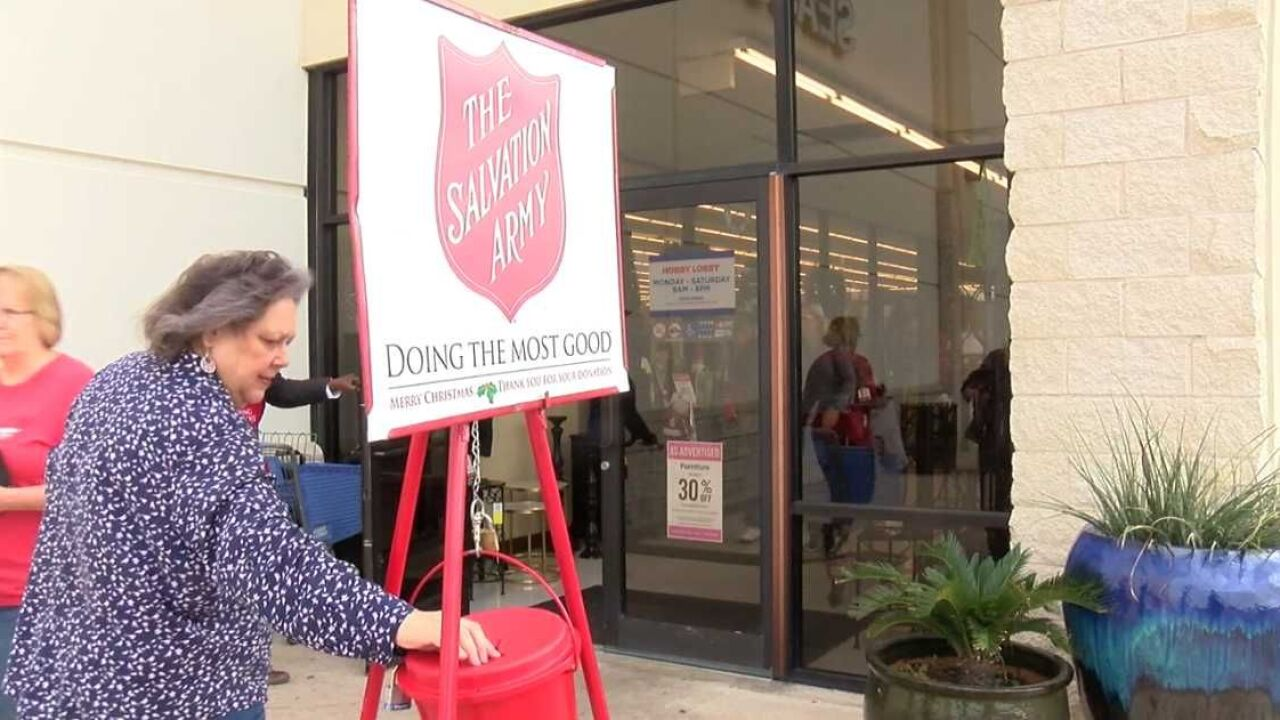 Salvation Army red kettle program helps families year-round