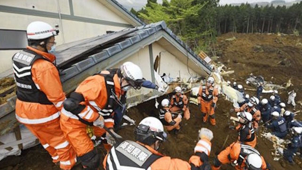 Death toll from Japan quakes rises to 45
