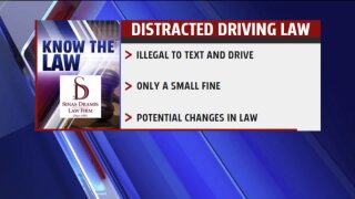 Know the Law – Distracted Driving Law