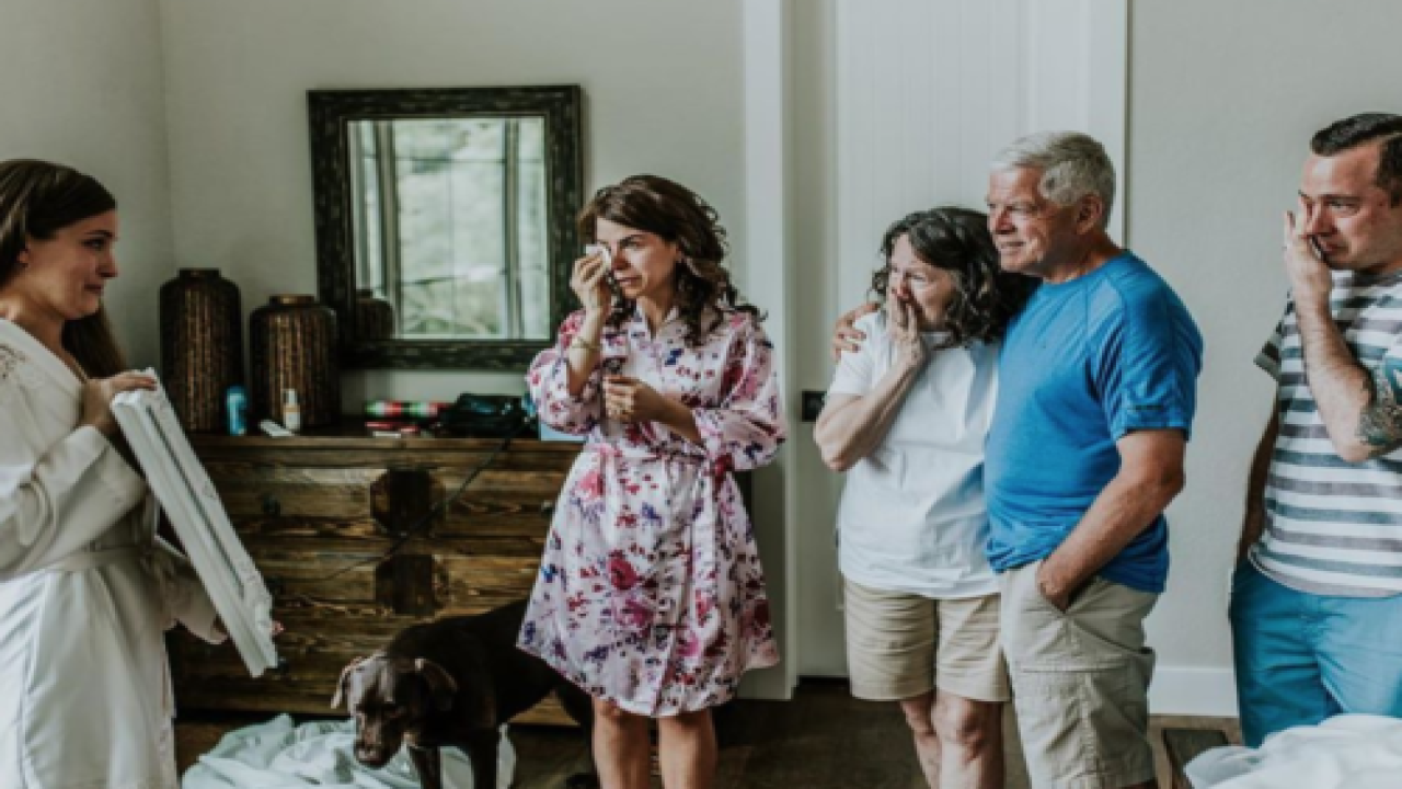 This Bride-to-be Had A Secret Photoshoot With Her Grandma Before Her Wedding