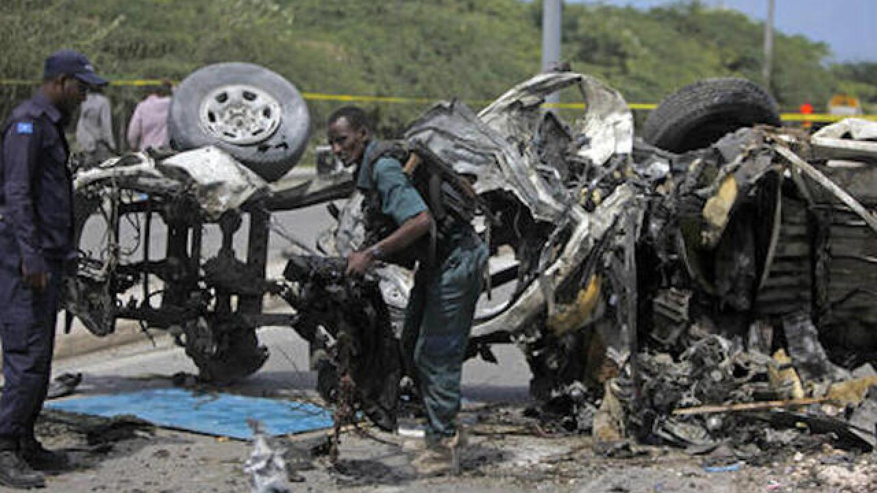 Somalia: Suicide car bomb strikes UN mine offices