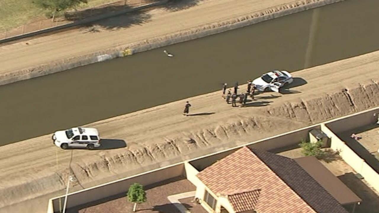 Phoenix PD: Body found in south Phoenix canal