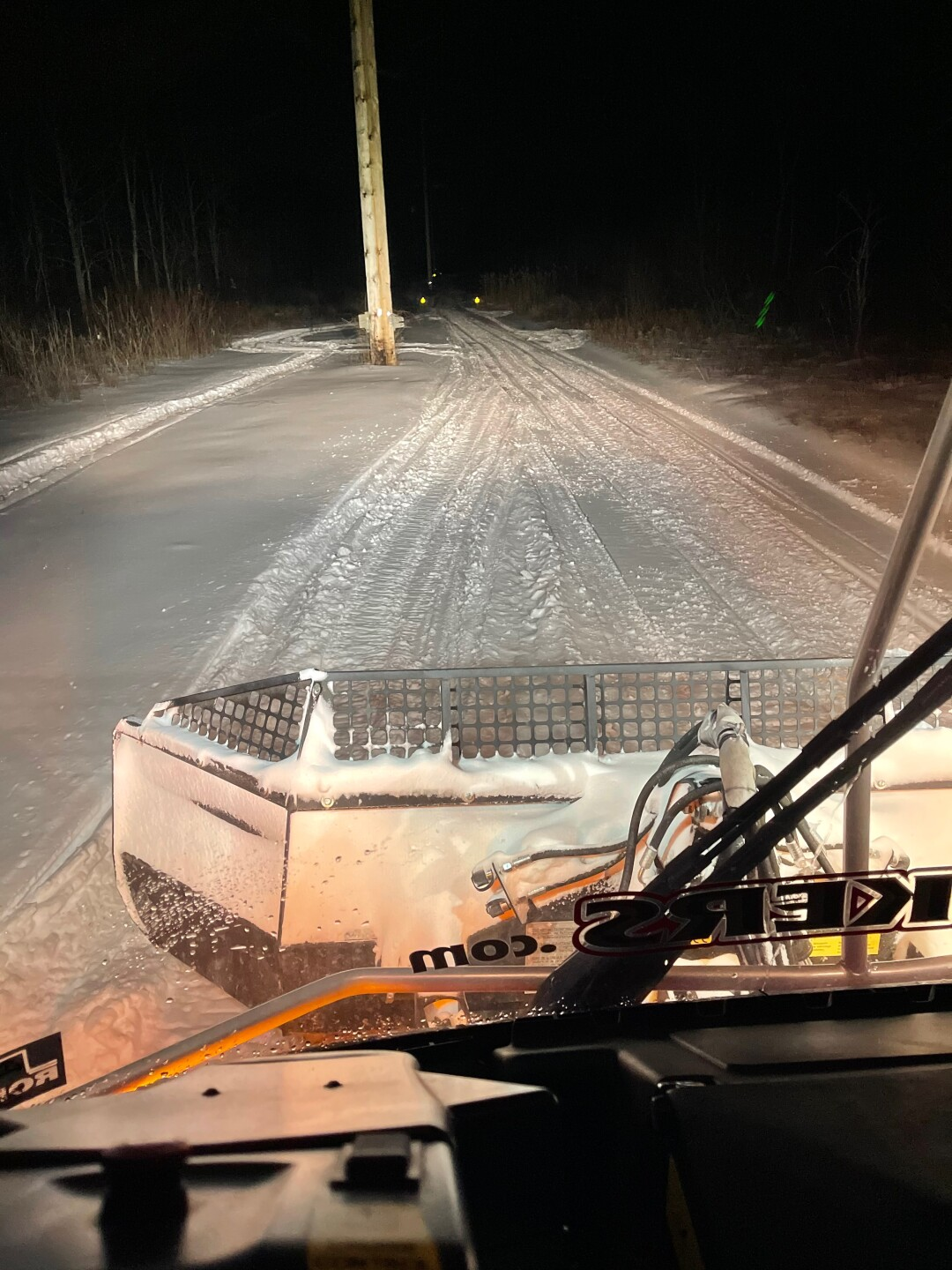 Trails were covered in snow for 20 days this season