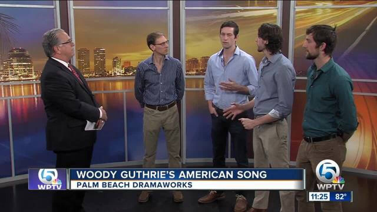 'Woody Guthrie's American Song' at the Palm Beach Dramaworks