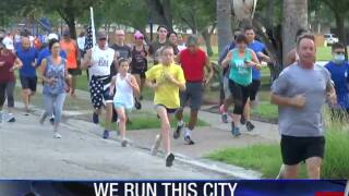 Guajardo encourages healthy lifestyle for residents with monthly group run