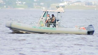 Officers from several agencies are searching for a potential missing swimmer in Stuart.