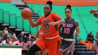 Aggies ride second half surge to defeat Lady Rattlers