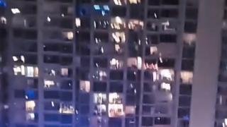 iamnoel san diego dj performs from balcony amid coronavirus