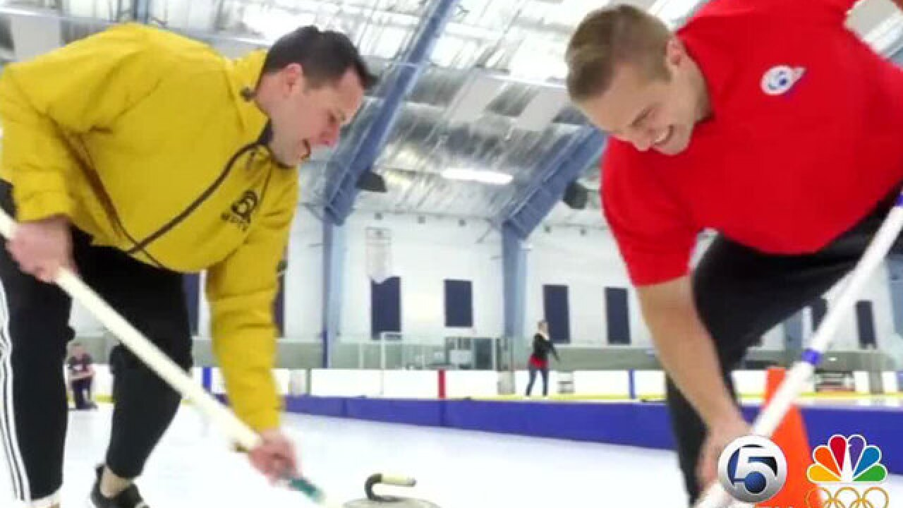 Sweeping up interest for curling in South Florida