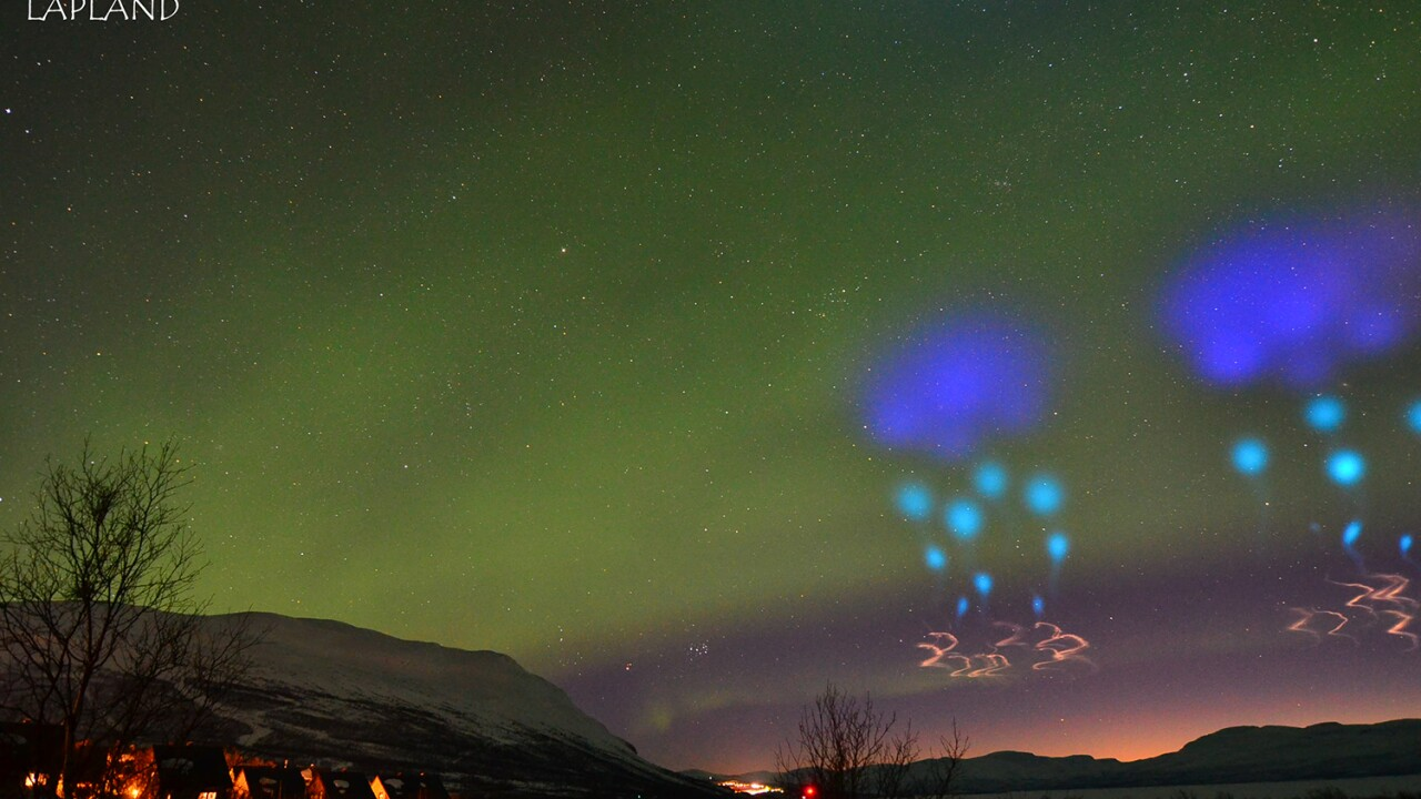 Alien Invasion? No, just a Northern Lights experiment