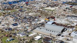 Hurricane Dorian Slams Into The Bahamas As Category 5 Storm