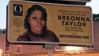 Oprah puts up billboards in Louisville demanding justice for Breonna Taylor