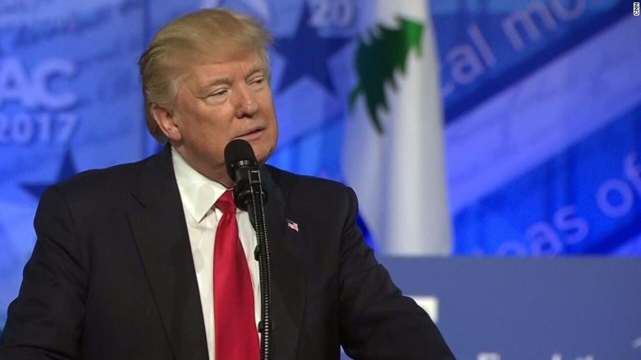 Trump returns to CPAC for victory lap