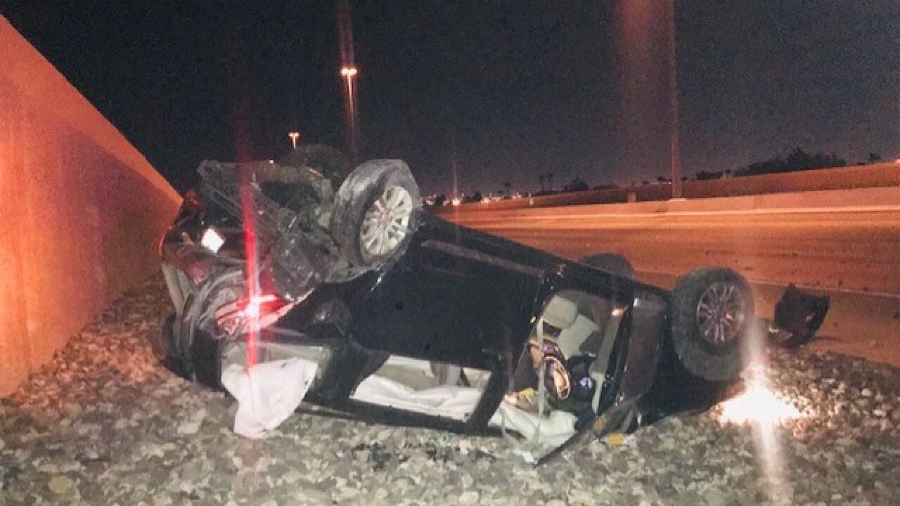 DUI crash aftermath