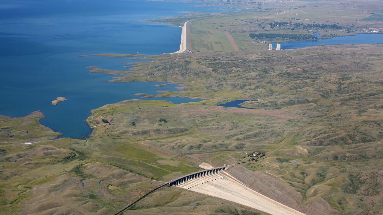 The Fort Peck Dam