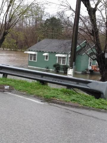 Photos: Flooding Hits Southern Portion Of Mid-State