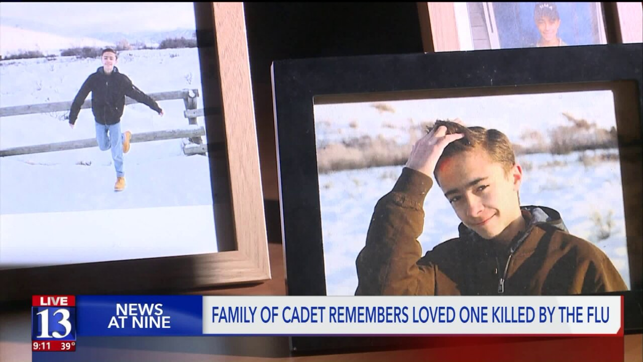 Ogden family shares memories and life of son taken by theflu