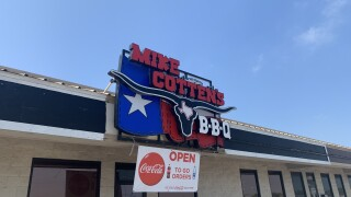 Mike Cotten's BBQ remains open during uncertain times