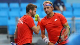Krajicek and Sandgren, last hope for U.S. in tennis, fall in bronze medal match