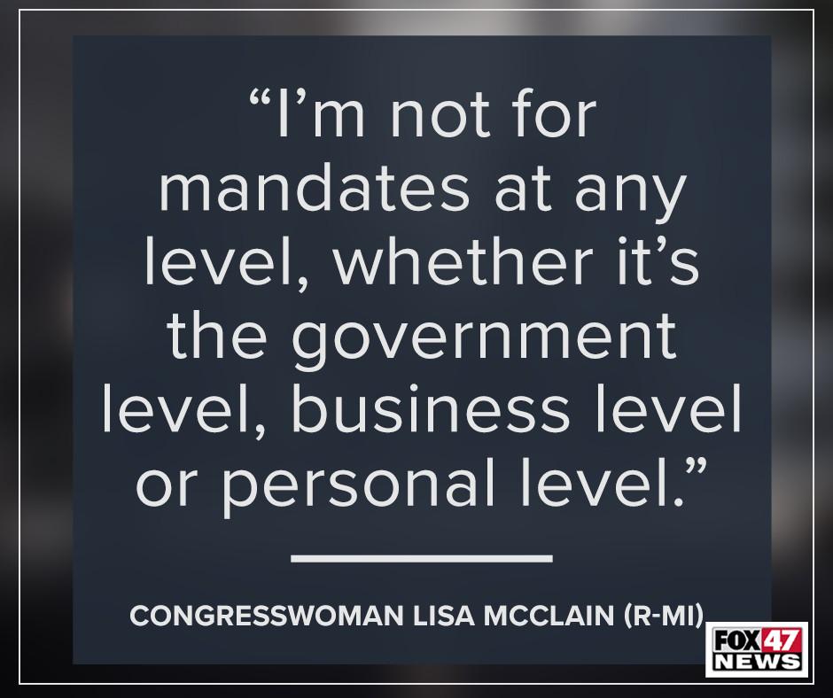 Congresswoman Lisa McClain