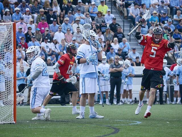 Maryland wins epic 3OT game vs. Hopkins
