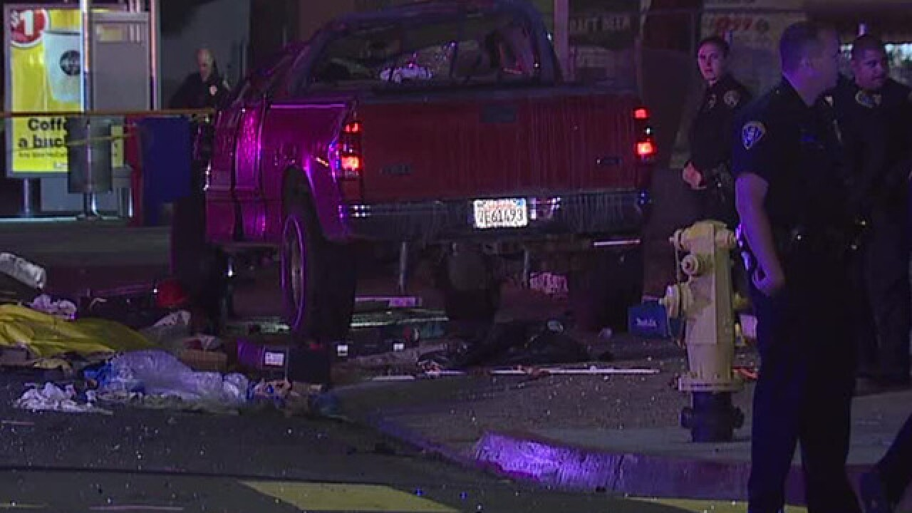 Driver dies after collision on Clairemont street