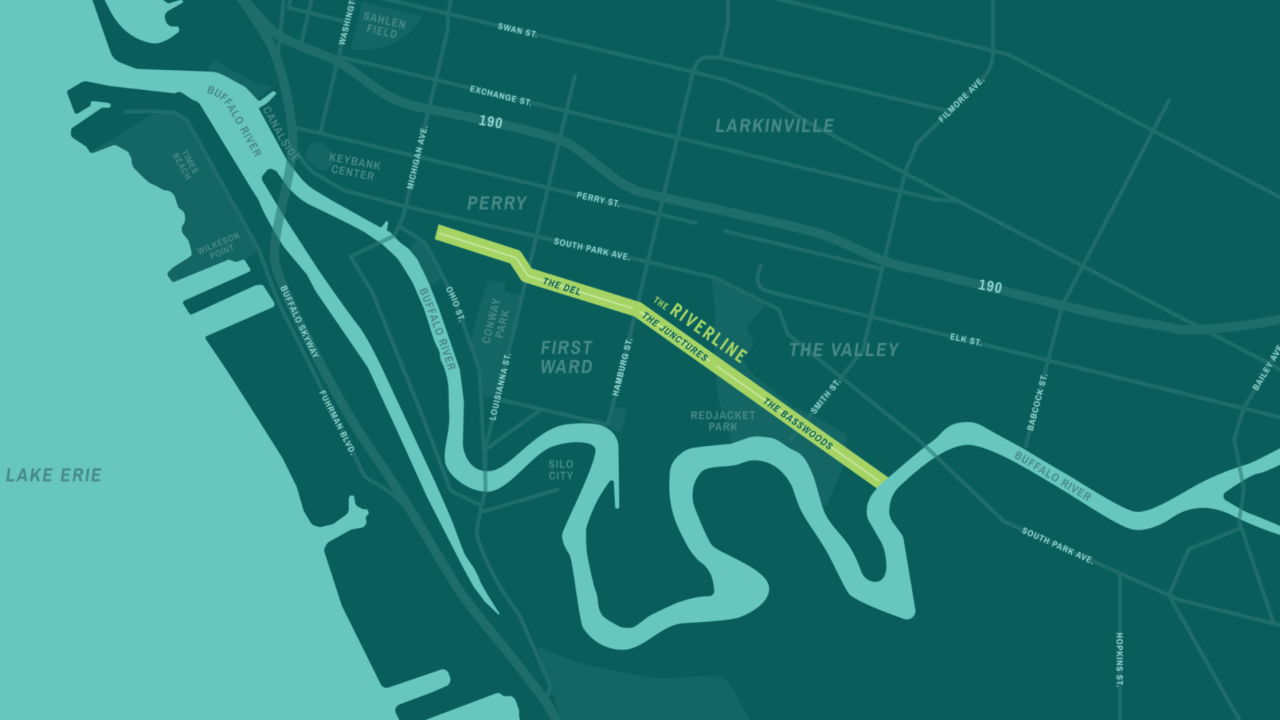 The Riverline map