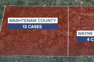 How Wayne & Washtenaw counties are dealing with new coronavirus variant