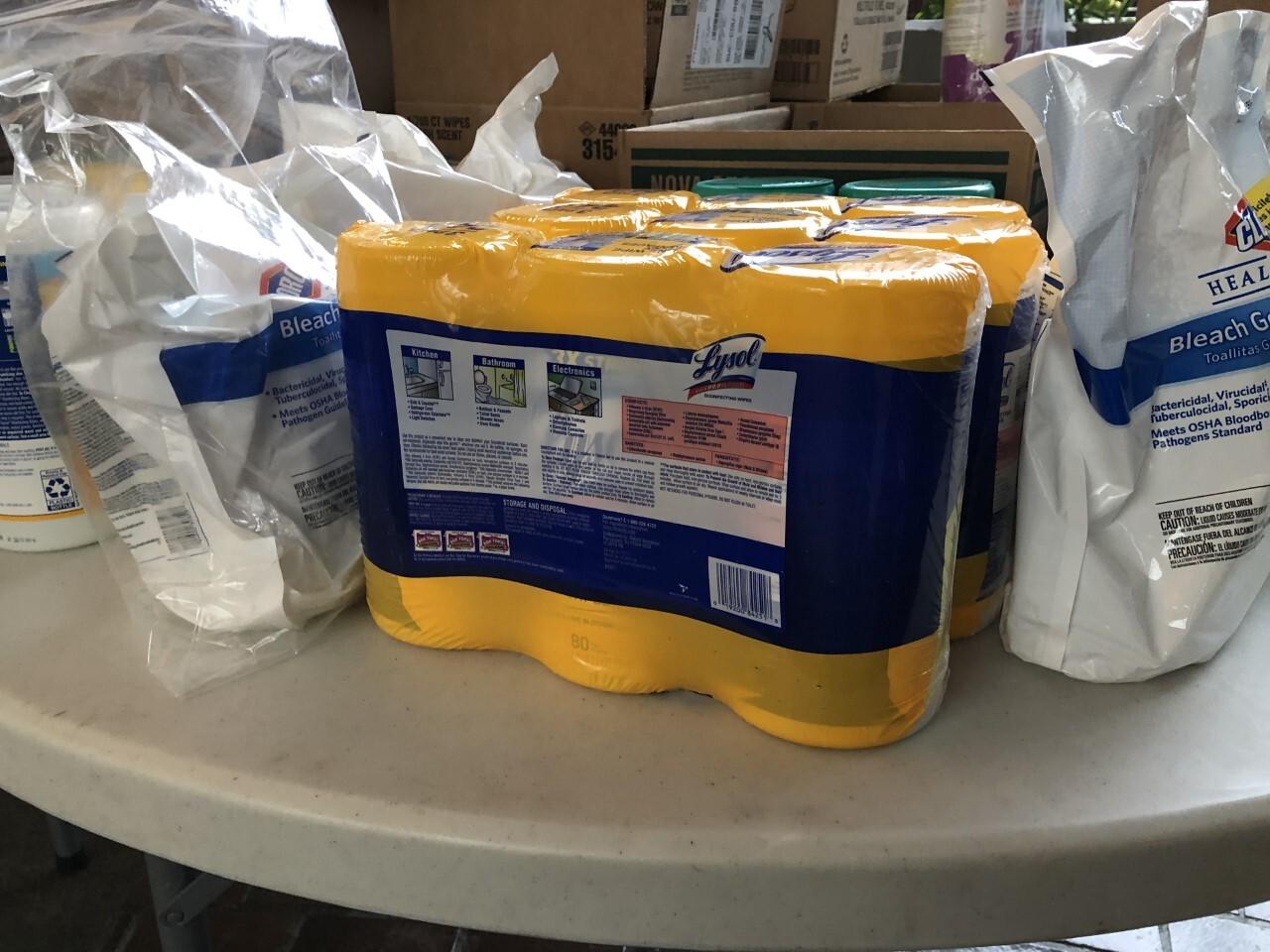 Cleveland Metropolitian School District donates medical supplies.