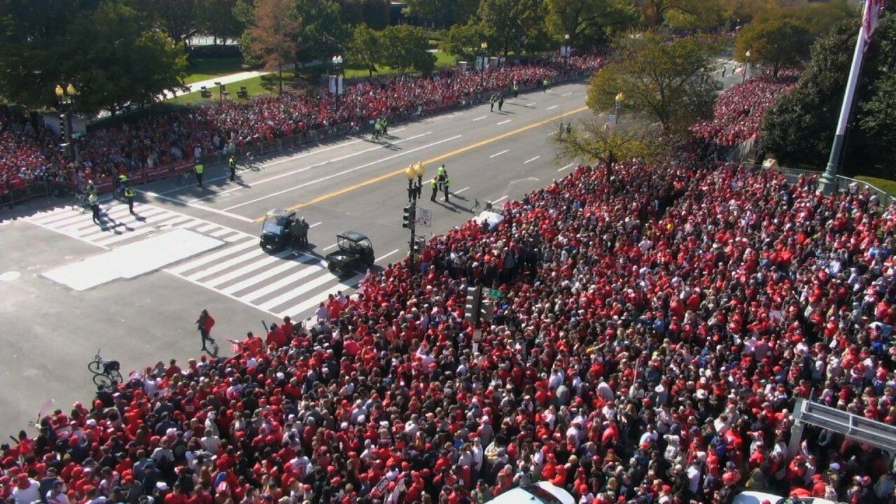 Washington Nationals Parade