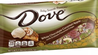 Dove's New White Chocolate Caramel Apple Candy Tastes Just Like Caramel Apple Pie