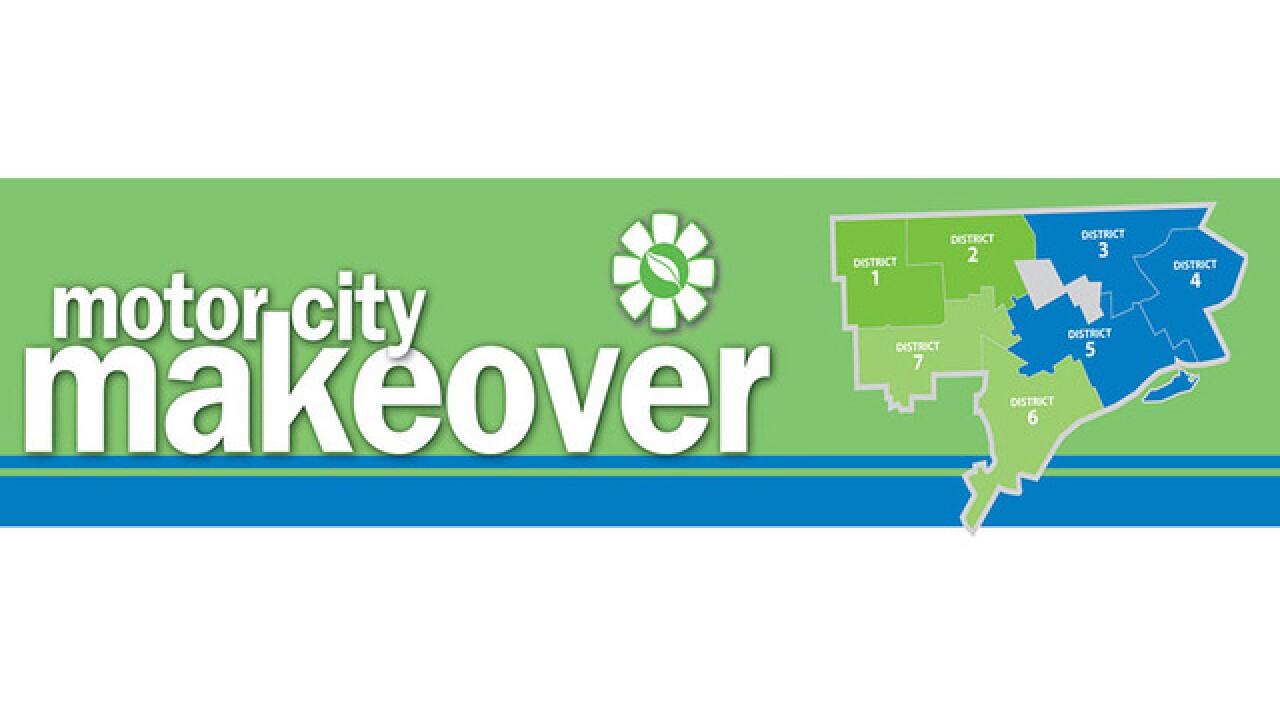 Motor City Makeover to kick off May 15