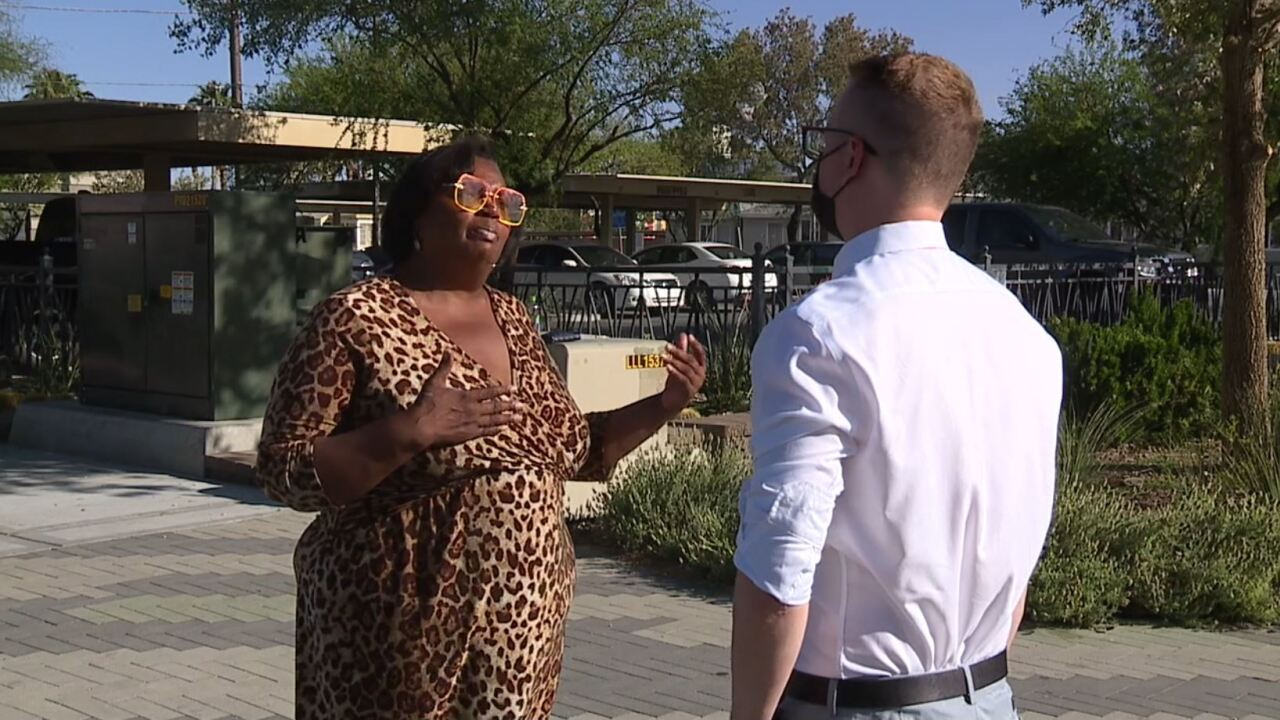 Lisa Rhodes says she has been struggling since losing her job and has navigated through the process to try and obtain both Nevada unemployment and Pandemic Unemployment Assistance, or PUA, only to be left wondering if she has fallen victim to a scammer.