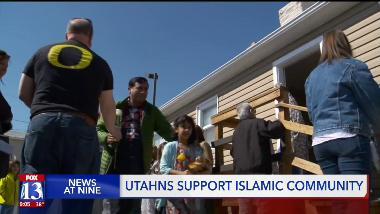 Utahns rally around local Muslim community after terror attacks at mosques in New Zealand