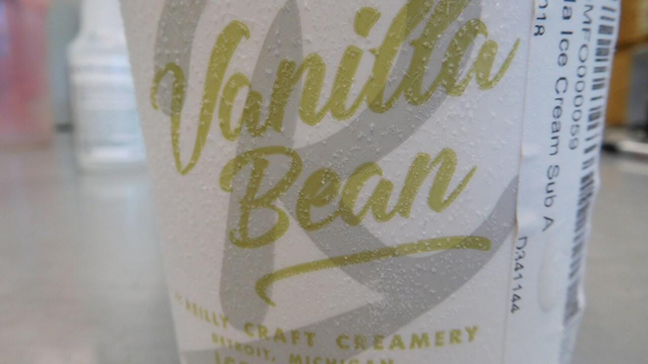 Detroit creamery recalls ice cream, health risk