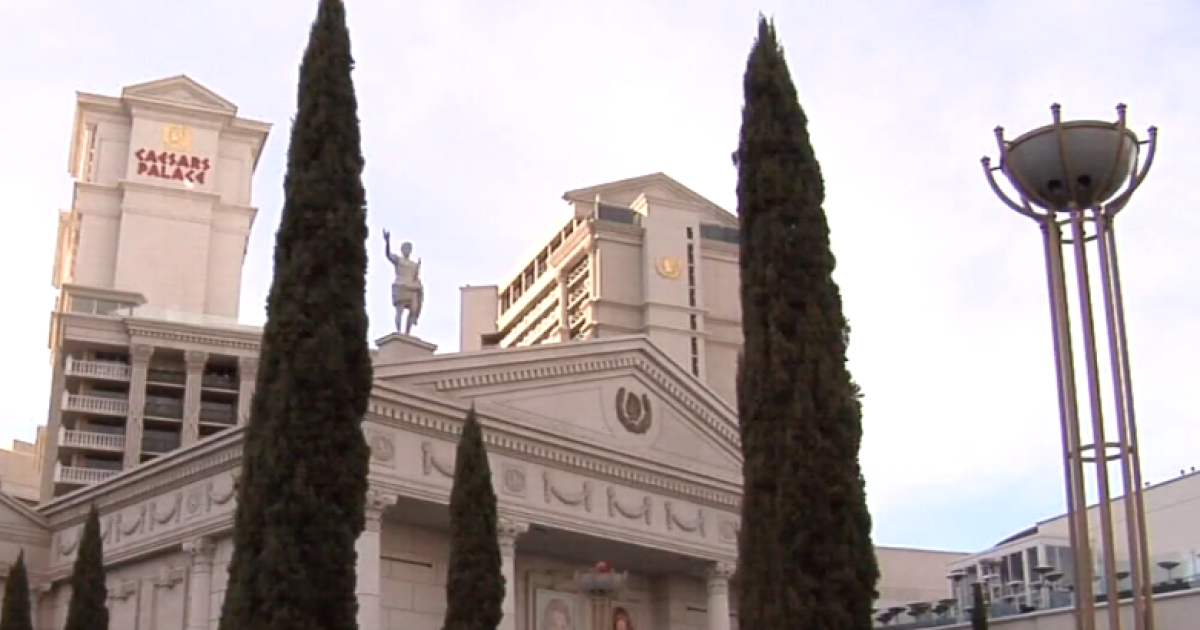Resort fees to increase at 3 Caesars hotels in Las Vegas