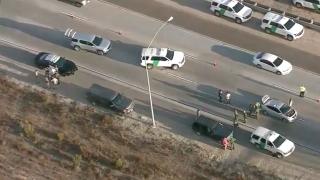 Several injured following crash involving Border Patrol