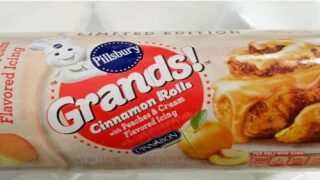 Pillsbury Is Now Making Peaches And Cream Cinnamon Rolls