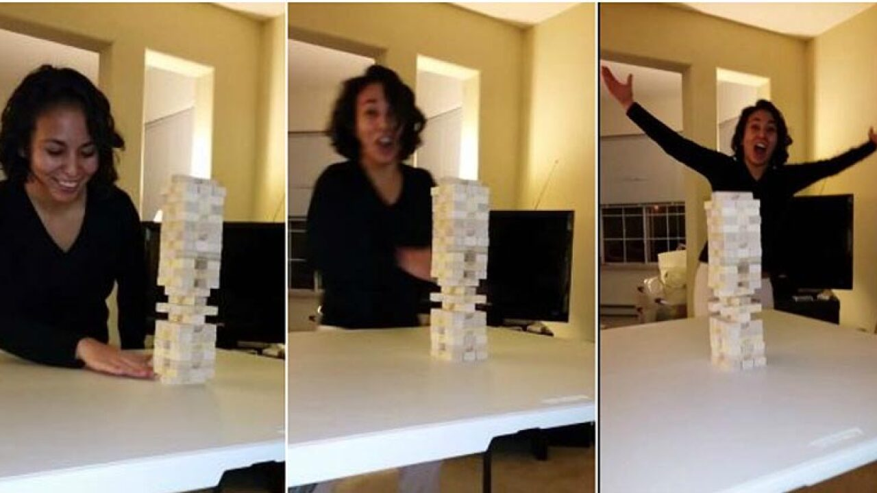 Watch: The most incredible Jenga move you'll ever see