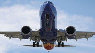 WPTV Boeing 737 Max plane underbelly