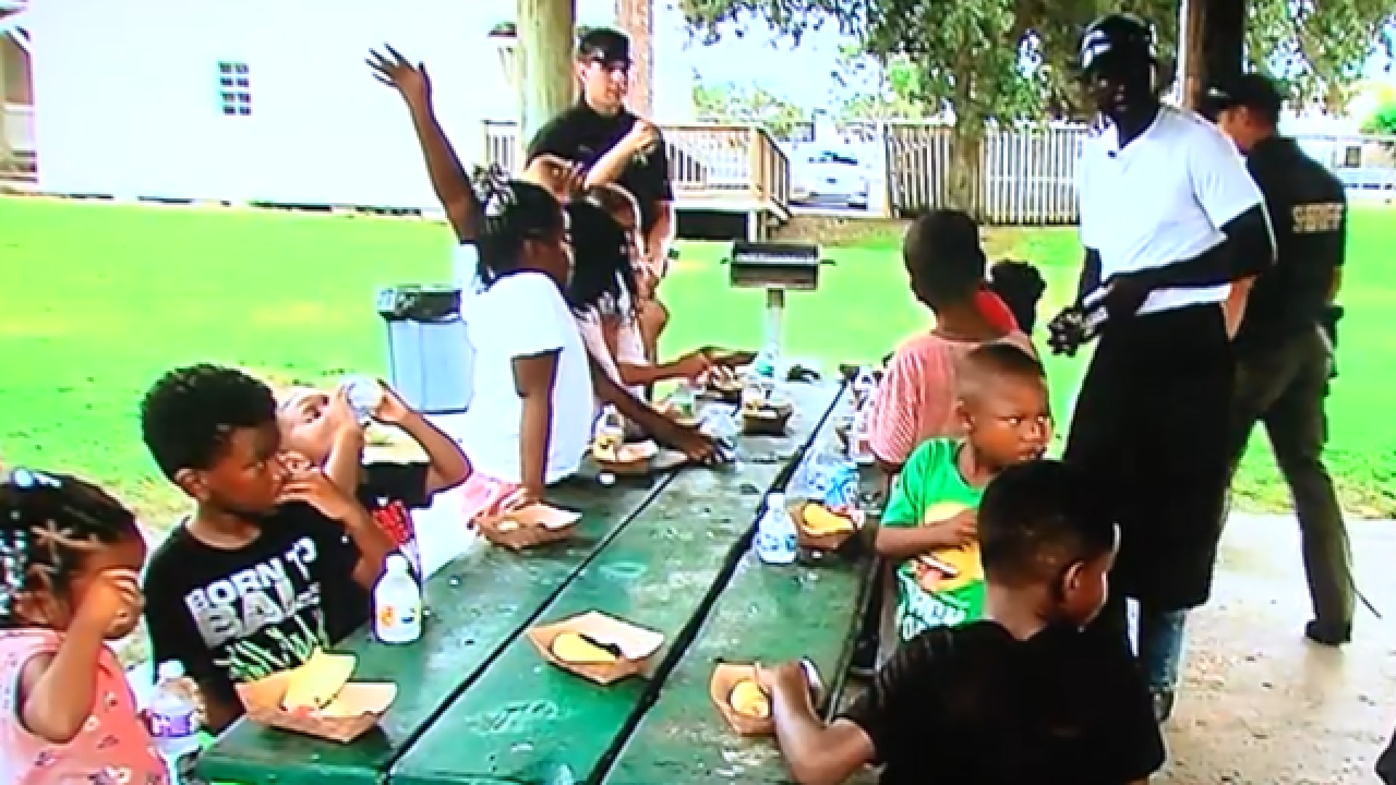 Port Salerno chef teaching kids how to cook