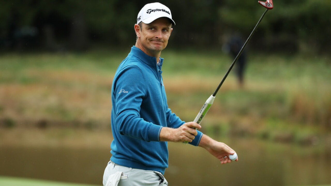 Justin Rose leads by 1 shot with a clear shot at No. 1 in the world