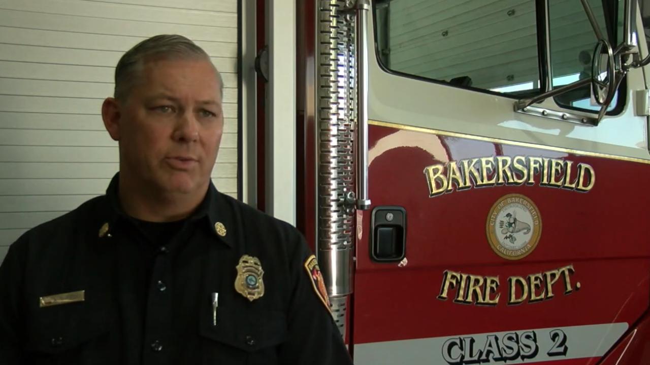 Bakersfield Fire Department Deputy Chief Kevin Albertson