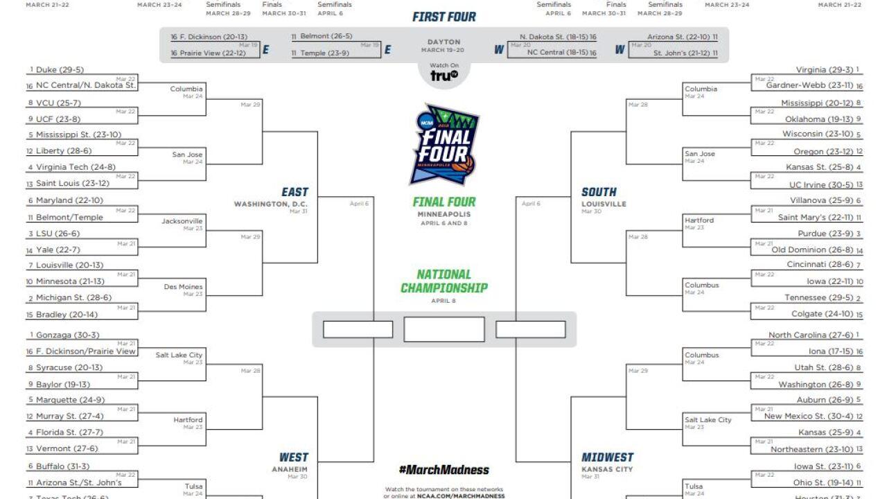 K-State, KU both draw No. 4 seeds for NCAA tourney